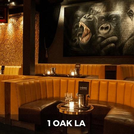 1 Oak La Table Reservations